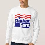 Clinton Gore para el presidente 1992 Pulovers Sudaderas