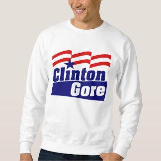 Clinton Gore para el presidente 1992 Sudadera