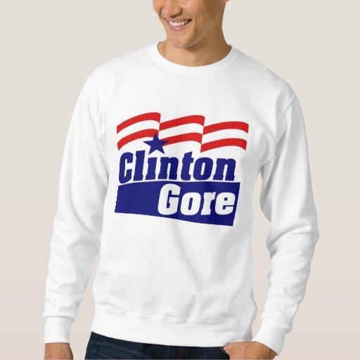 Clinton Gore para el presidente 1992 Suéter