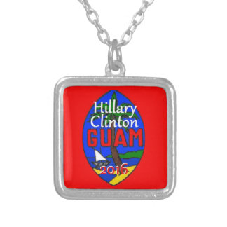 Clinton Guam 2016 Colgante Cuadrado
