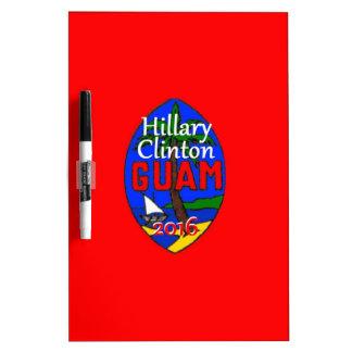 Clinton Guam 2016 Dry-Erase Whiteboards