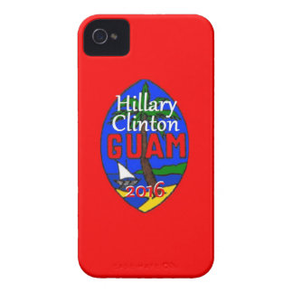 Clinton Guam 2016 iPhone 4 Case-Mate Carcasa