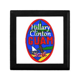 Clinton Guam 2016 Jewelry Box