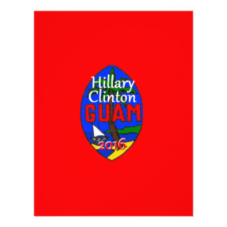 Clinton Guam 2016 Letterhead