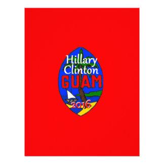 Clinton Guam 2016 Membretes Personalizados