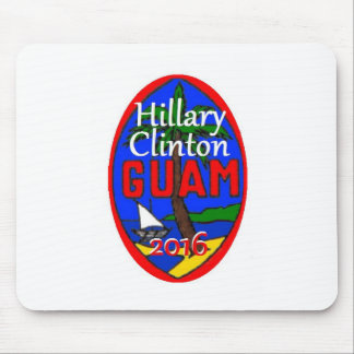 Clinton Guam 2016 Mouse Pad
