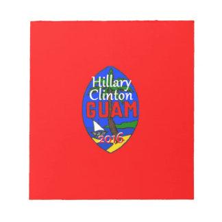 Clinton Guam 2016 Notepad