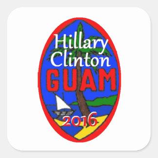 Clinton Guam 2016 Colcomania Cuadrada
