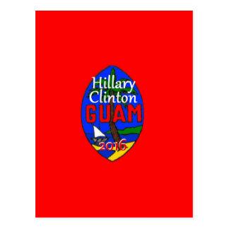 Clinton Guam 2016 Postcard