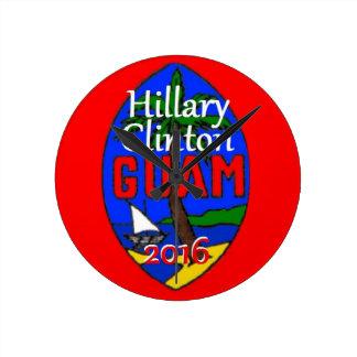 Clinton Guam 2016 Relojes