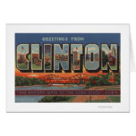 Clinton, IowaLarge Letter ScenesClinton, IA Card