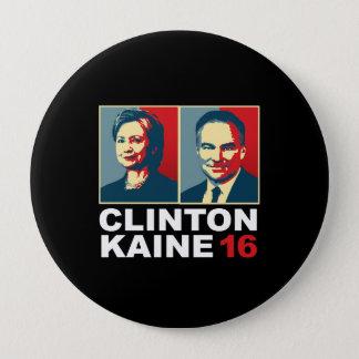 Clinton Kaine 16 - Posterized -- Button