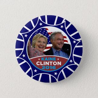 Clinton Kaine 2016 Button