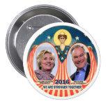 Clinton/Kaine 2016 Button