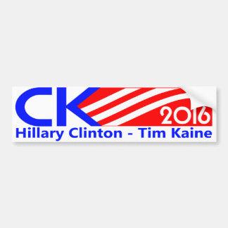 Clinton Kaine 2016 campaign bumper sticker. Bumper Sticker