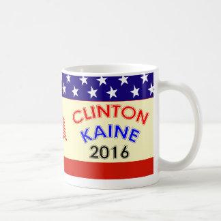 CLINTON KAINE 2016 COFFEE MUG