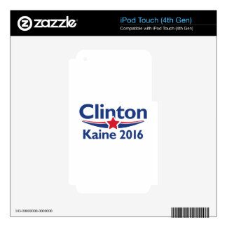 Clinton Kaine 2016 iPod Touch 4G Skin