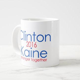 Clinton Kaine 2016 más fuerte junto Taza Grande