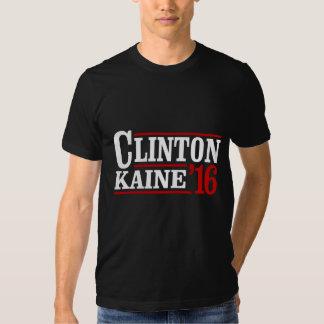 Clinton Kaine 2016 - muestra retra -- Remeras