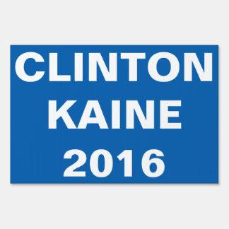 CLINTON KAINE 2016 SEÑAL