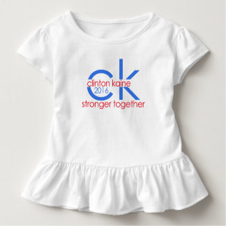 Clinton Kaine 2016 Stronger Together Toddler T-shirt