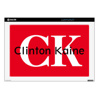 "Clinton Kaine - CK 2016 17"" Laptop Skin"
