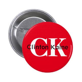 Clinton Kaine - CK 2016 Pinback Button