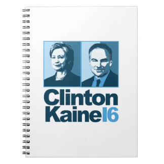 Clinton Kaine for America 2016 Notebook
