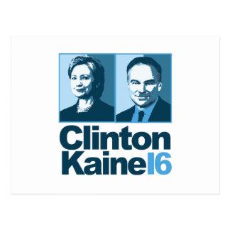 Clinton Kaine for America 2016 Postcard