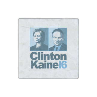 Clinton Kaine for America 2016 Stone Magnet