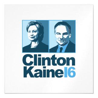 Clinton Kaine para América 2016 Invitaciones Magnéticas