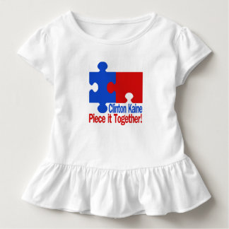 Clinton Kaine Piece it Together Toddler T-shirt