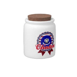 Clinton, LA Candy Jar