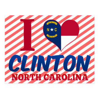 Clinton, North Carolina Postcard