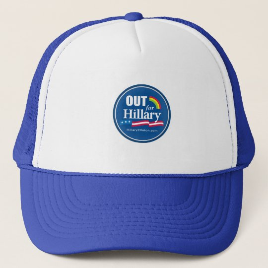"""Clinton """"OUT"""" Hat Gay"""