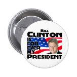 Clinton para siempre pin
