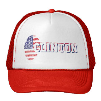 Clinton. Plain & Simple. Trucker Hat