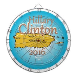 Clinton Puerto Rico 2016 Tablero Dardos