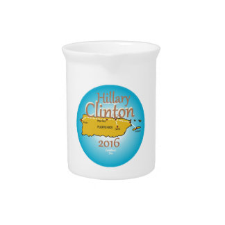 Clinton Puerto Rico 2016 Drink Pitcher