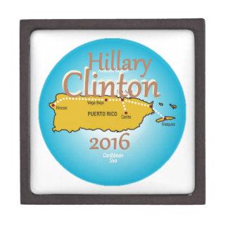Clinton Puerto Rico 2016 Jewelry Box