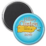 Clinton Puerto Rico 2016 Magnet