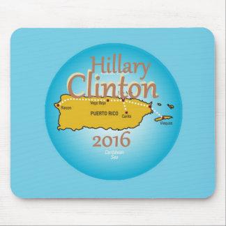 Clinton Puerto Rico 2016 Mouse Pad