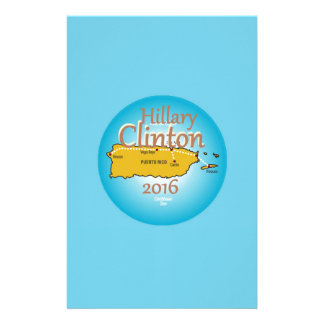 Clinton Puerto Rico 2016 Stationery