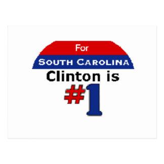 Clinton SC Postcard