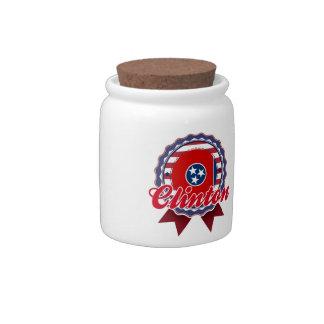 Clinton, TN Candy Jars