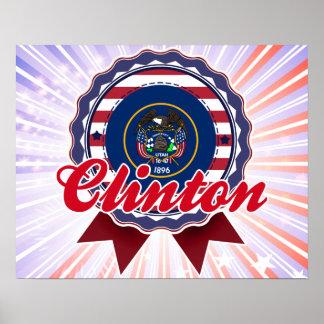 Clinton, UT Print