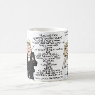 Clinton v. Trump Coffee Mug