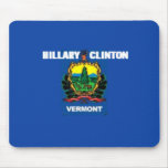 Clinton VERMONT Mousepad Alfombrillas De Ratón