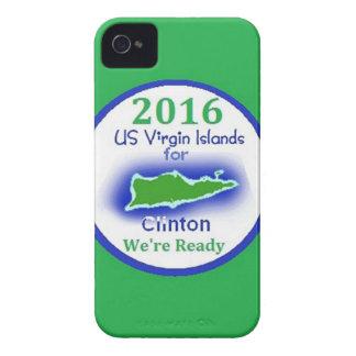 Clinton Virgin Islands 2016 iPhone 4 Case-Mate Case