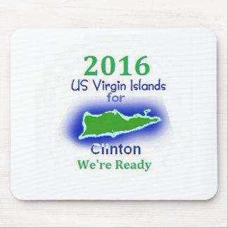 Clinton Virgin Islands 2016 Mousepads